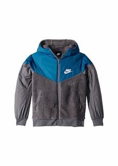 Nike NSW Sherpa Jacket (Little Kids/Big Kids)
