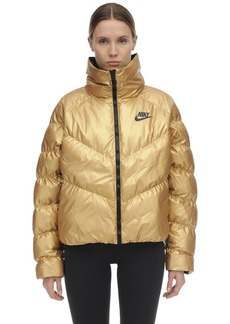 Nike Nsw Shine Nylon Puffer Jacket