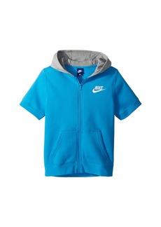 Nike NSW Short Sleeve Hoodie (Little Kids/Big Kids)