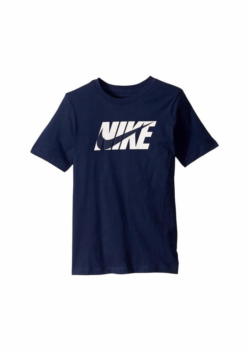 Nike NSW Swoosh Block T-Shirt (Little Kids/Big Kids)