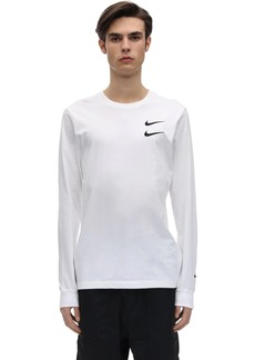 Nike Nsw Swoosh Cotton Ls T-shirt