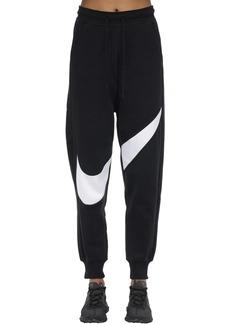 Nike Nsw Swsh Logo Cotton Blend Sweatpants