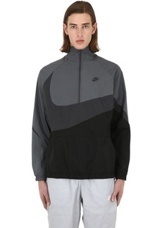 Nike Nsw Vw Swoosh Woven Half Zip Jacket