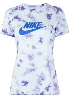 Nike NSW washed tie-dye print T-shirt