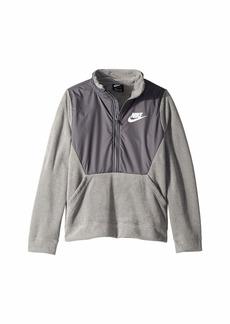Nike NSW Winterized Long Sleeve 1/2 Zip (Little Kids/Big Kids)