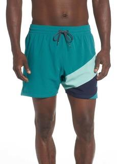 Nike Optic Camo Mesh Signal Swim Shorts