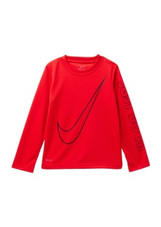 Nike Oversize Swoosh Dri Top (Toddler Boys)
