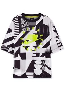 Nike Oversized Printed Cotton-jersey T-shirt