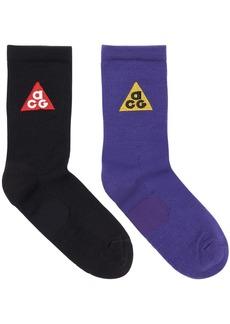 Pack Of 2 Nike Acg 365 Socks
