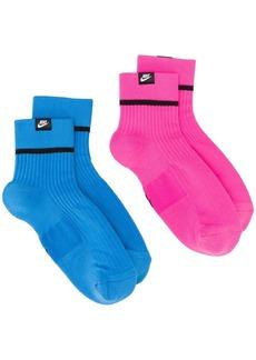 Nike pack of two logo socks
