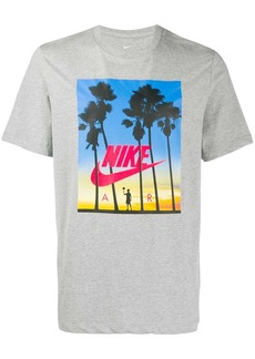 Nike palm tree print T-shirt