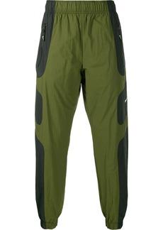 Nike panelled swoosh logo track pants