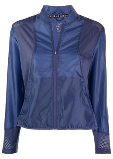 Nike perforated bomber jacket