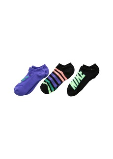 Nike Performance Cushion No Show 3-Pair Socks (Little Kid/Big Kid)