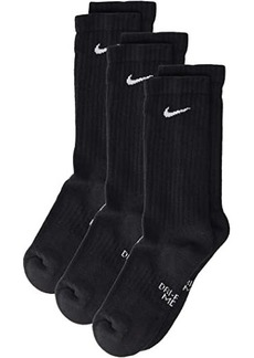 Nike Performance Cushioned Crew Training Socks 3-Pair Pack (Little Kid/Big Kid)