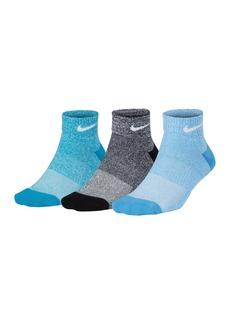 Nike Performance Cushioned Training Quarter Socks - Pack of 3