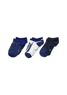 Nike Performance Lightweight Dri-FIT™ No Show Training Socks 3-Pair Pack (Little Kid/Big Kid)