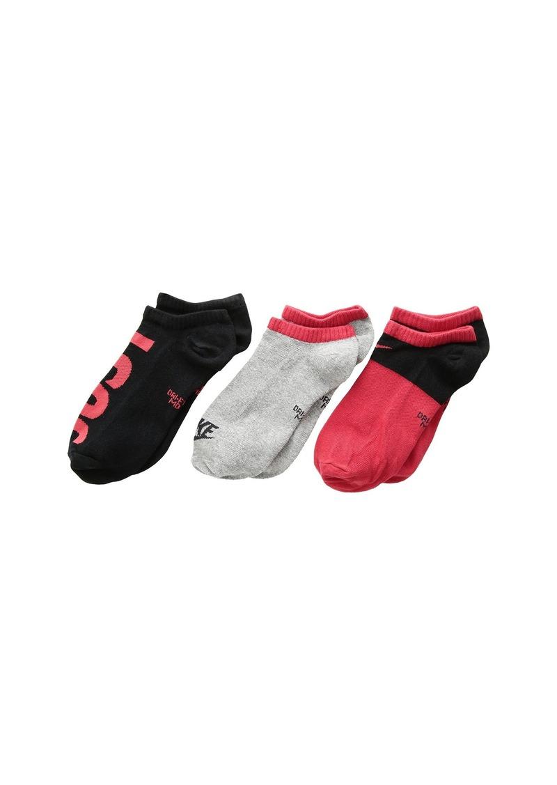 Nike Performance Lightweight Low Training Socks 3-Pair Pack (Little Kid/Big Kid)
