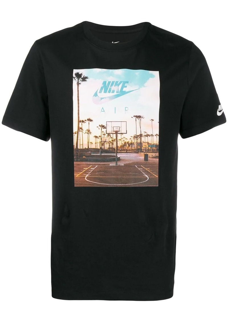 Nike photographic Swoosh T-shirt