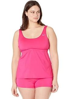 Nike Plus Size Essential Scoop Neck Tankini
