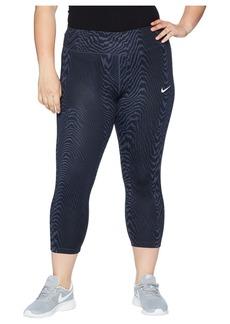 Nike Power Essential Crop Print (Size 1X-3X)