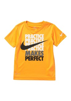Nike Practice Makes Perfect T-Shirt (Little Boys)