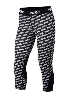 Nike Printed  Capri Leggings Big Girls)