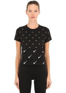 Nike Printed Cropped T-shirt