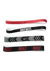 Nike Printed Headbands Assorted 4-Pack