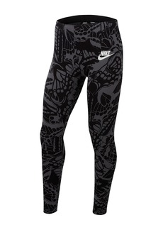 Nike Printed Leggings (Big Girls)