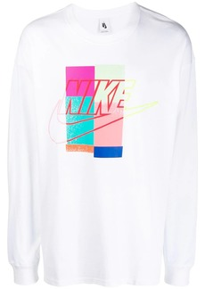 Nike printed sweatshirt