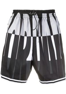 Nike printed swimming trunks
