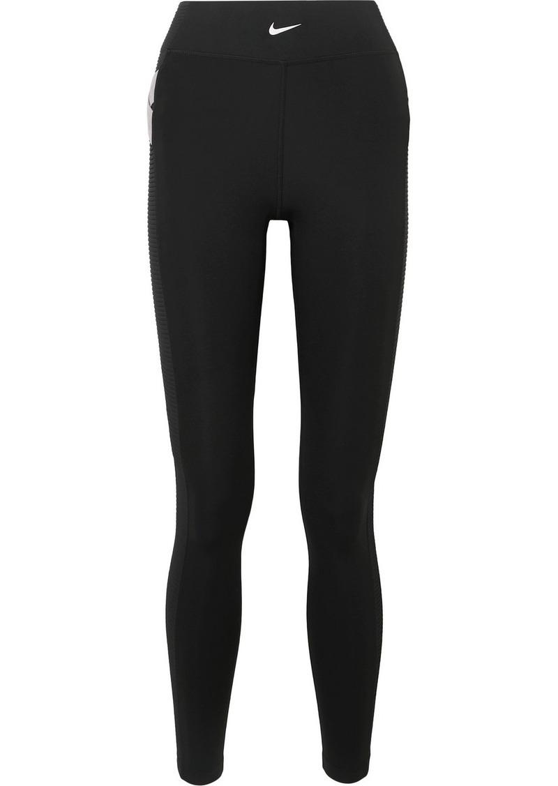 Nike Pro Aeroadapt Ribbed Stretch Leggings