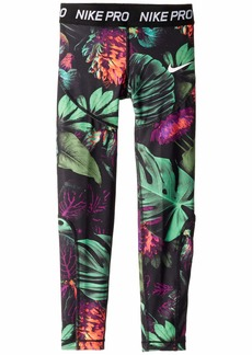 Nike Pro All Over Print Tights (Little Kids/Big Kids)