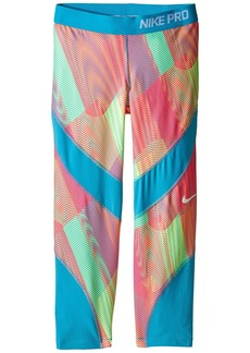 Nike Pro Hypercool Printed Training Capri (Little Kids/Big Kids)