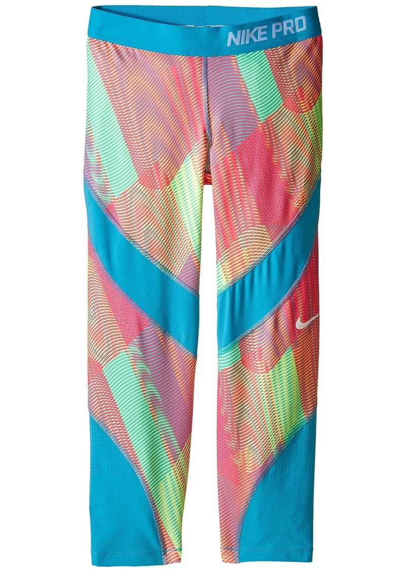 6f15e22fa77a Nike Pro Hypercool Printed Training Capri (Little Kids Big Kids ...
