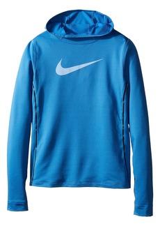 Nike Pro Hyperwarm Pullover Hoodie (Little Kids/Big Kids)