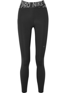 Nike Pro Intertwist Cutout Mesh-trimmed Dri-fit Stretch Leggings