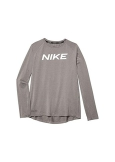 Nike Pro Long Sleeve Fitted Top (Big Kids)