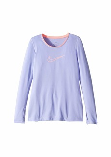 Nike Pro Long Sleeve Top (Little Kids/Big Kids)