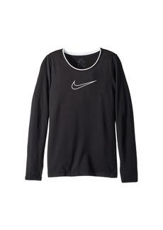 Nike Pro Long Sleeve Top (Little Kids/Big Kids)