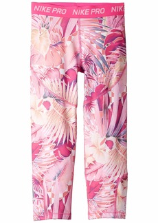 Nike Pro Printed Capris (Little Kids/Big Kids)