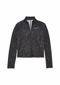 Nike Pro Warm 1/2 Zip Shine Top (Little Kids/Big Kids)