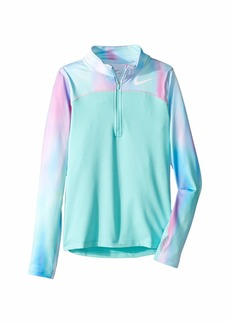 Nike Pro Warm Long Sleeve 1/2 Zip Top (Little Kids/Big Kids)