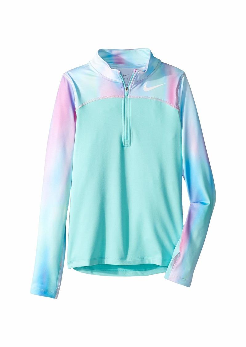 f307c5c77b60 Nike Pro Warm Long Sleeve 1 2 Zip Top (Little Kids Big Kids) Now  37.50