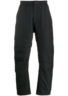 Nike quilted track pants