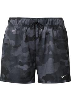 Nike Rebel Camouflage-print Dri-fit Jersey Shorts