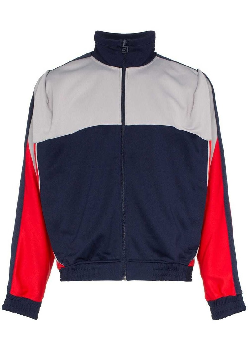 Nike red and blue X Martine Rose track jacket
