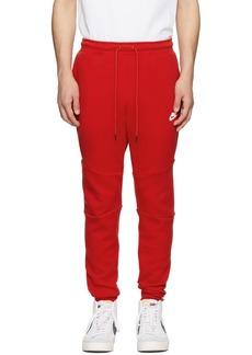 Nike Red Sportswear Tech Lounge Pants