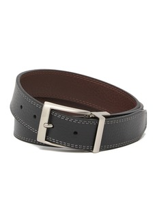 Nike Reversible Contrast Double Stitch Leather Belt